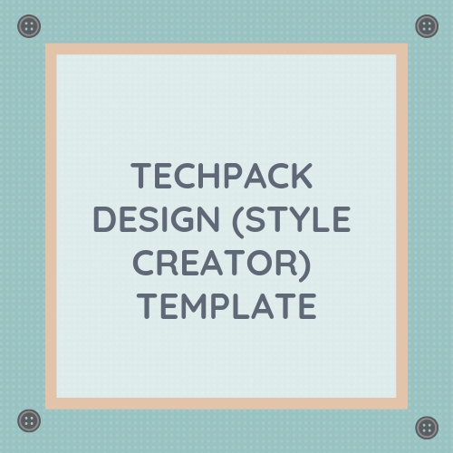 Tech Pack Template | Techpack Design Style Creator Template